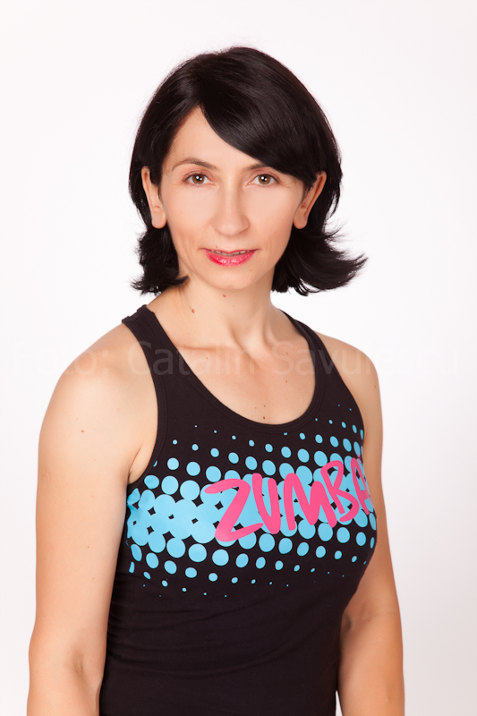 Daniela Iliescu zumba fitness instructor